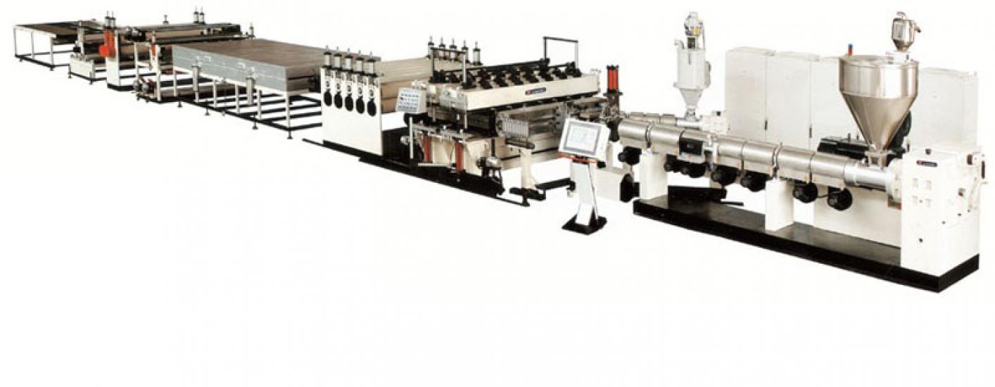 Линия по производству сотовых листов из PC/PP